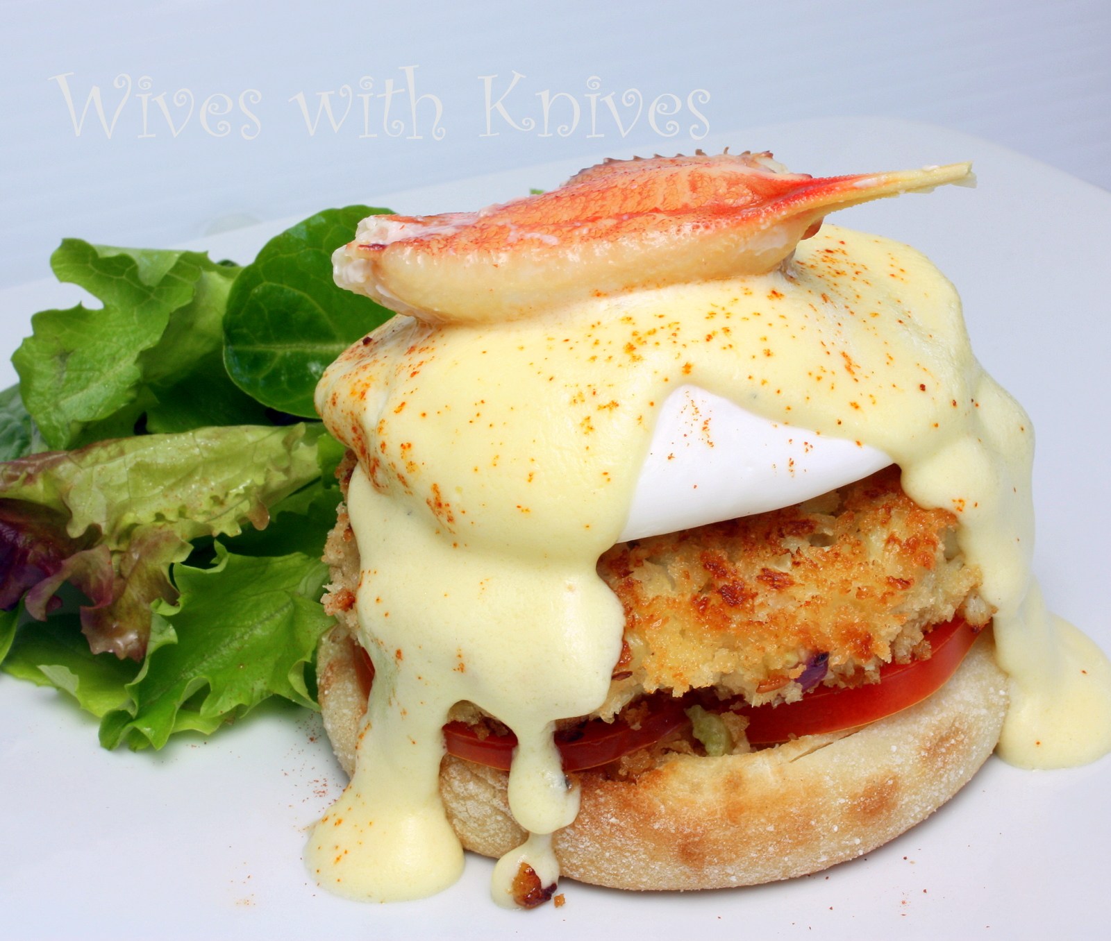 Dungeness Crab Eggs Benedict | Wives with Knives