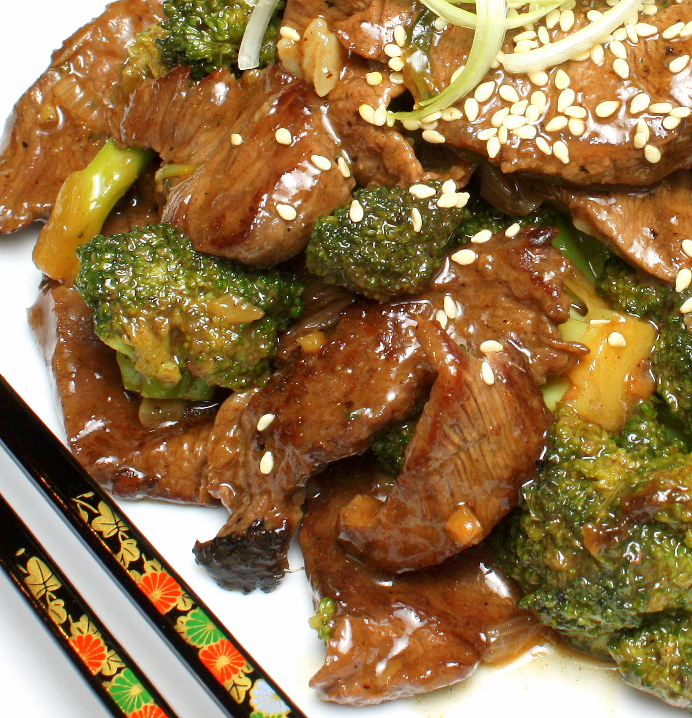 Stir Fry Ginger Beef and Broccoli | Wives with Knives