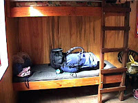 bunk in typical DOC hut
