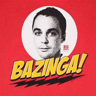 Geekazoid Sheldon from 'The Big Bang Theory'