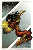 Mujeres en Marvel,Women Of Marvel Poster Book 0004