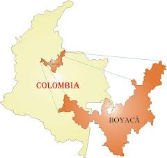 uvicacion de boyaca en colombia