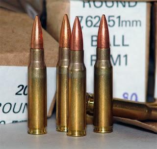 Tipos de municion para armas de fuego