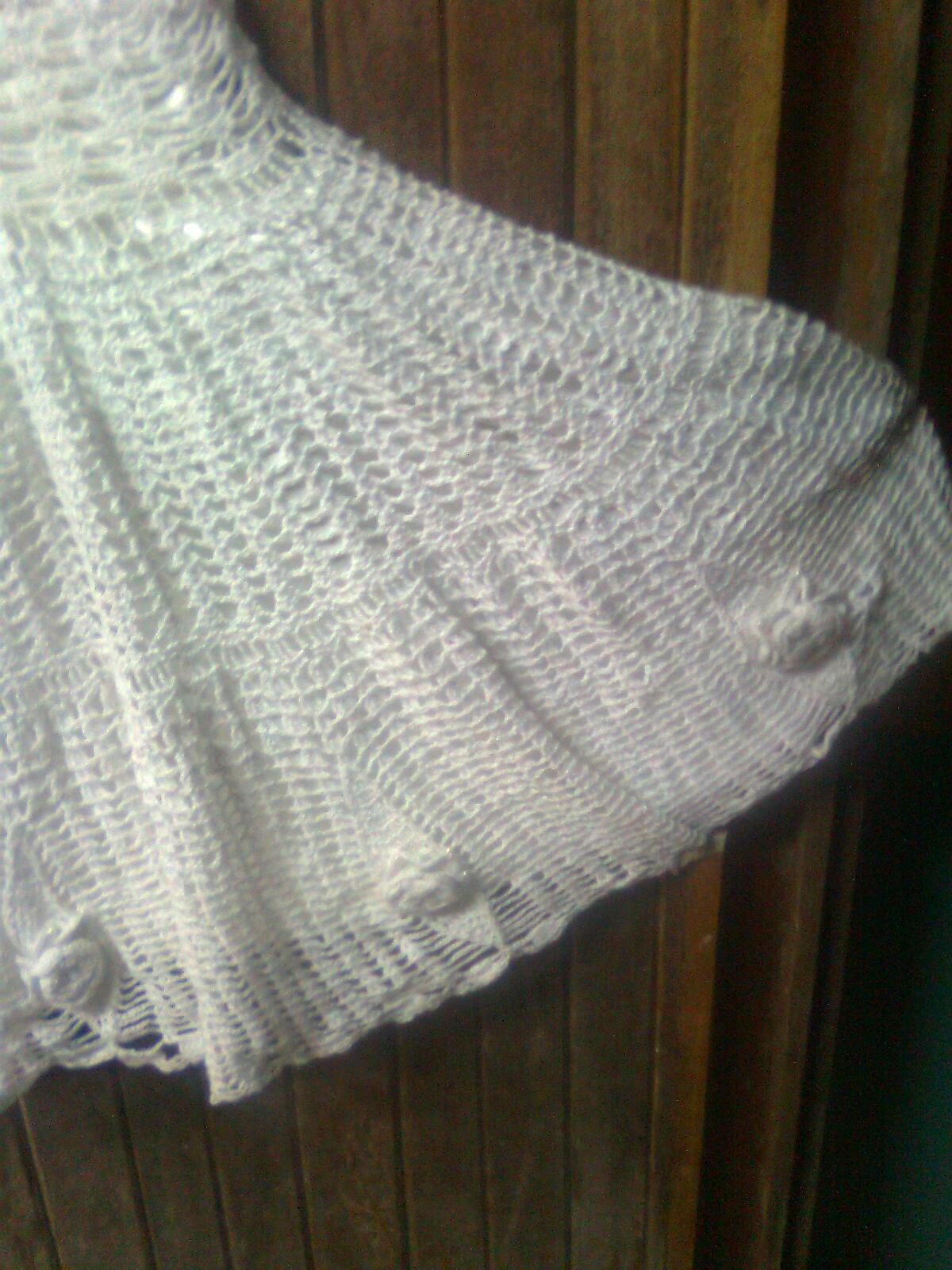Vestido tejido comunión - Imagui