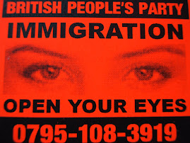 BRITISH PEOPLES PARTY PROPAGANDA MIXED PACK OF STICKERS AND LEAFLETS