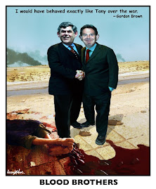 GORDON BROWN AND TONY B.LIAR THE BLOOD BROTHERS