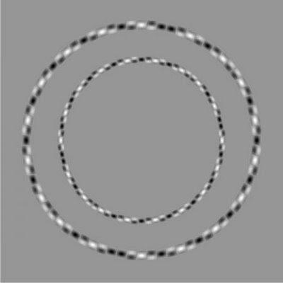 Circle illusion