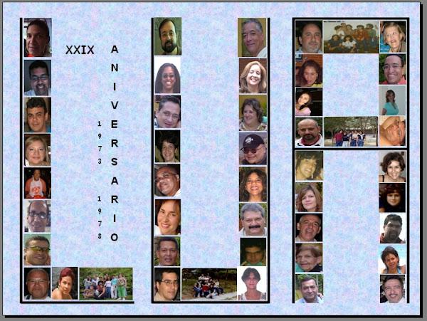 XXIX Aniversario X Promoción. 12/10/2007.