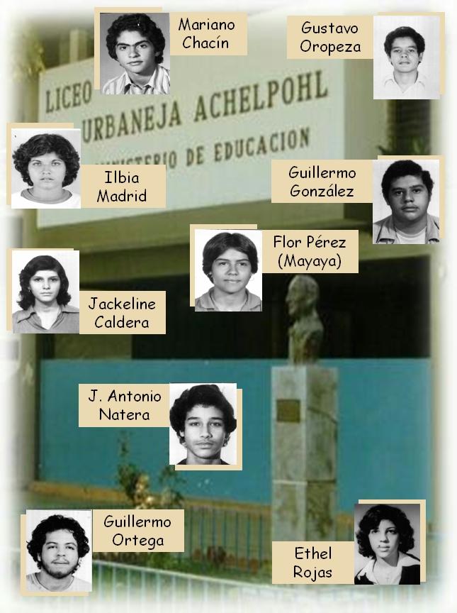 FOTOS LUA 1978. Grupo V