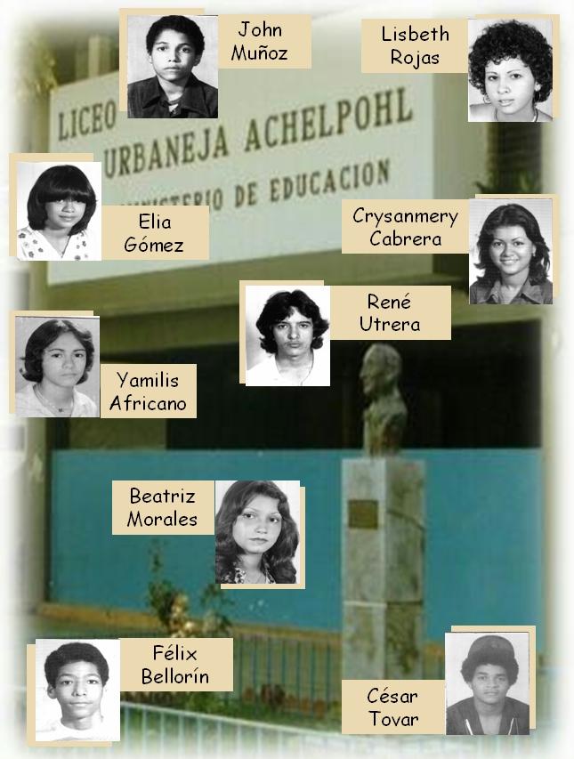 FOTOS LUA 1978. Grupo VII