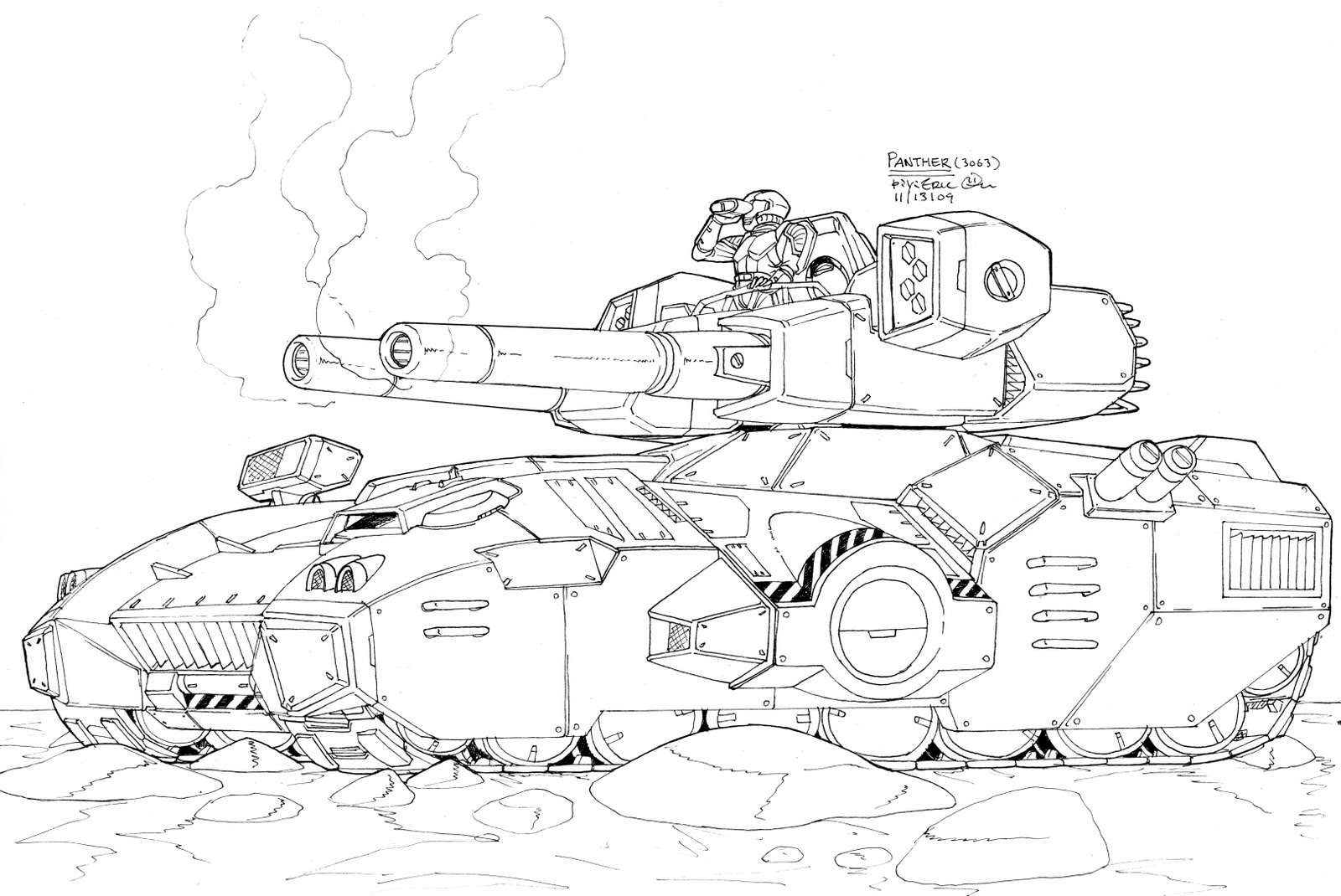 panzer tanks coloring pages - photo#13