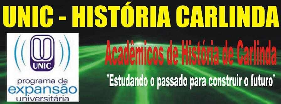"Unic Carlinda História ""Pagina principal"""