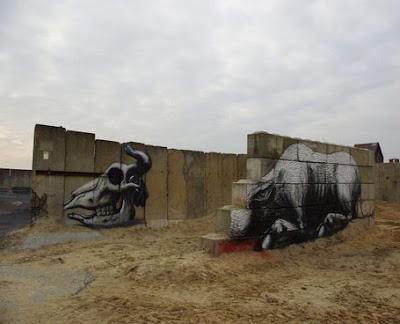 Buffalo Graffiti Street Art