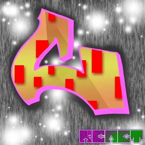 Sweet Graffiti Alphabet Letter C