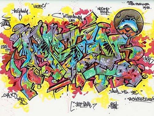 Wild Style Graffiti Black Book