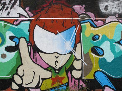 Copenhagen Graffiti Art