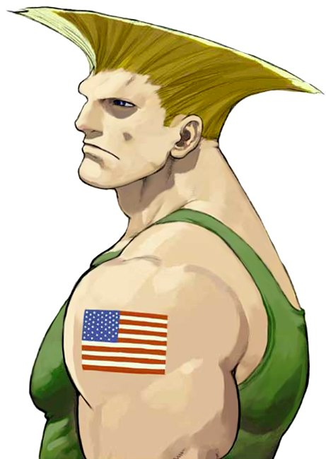 Never does Guile