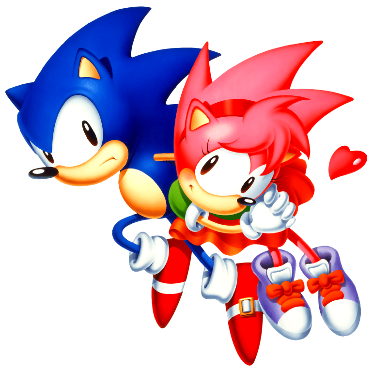 Classic Sonic And Amy Galleryhipcom The Hippest Galleries