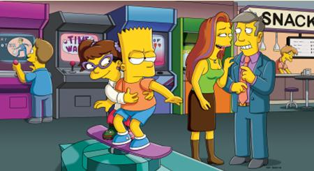Cover girl: Marge Simpson poses for the November issue of Playboy