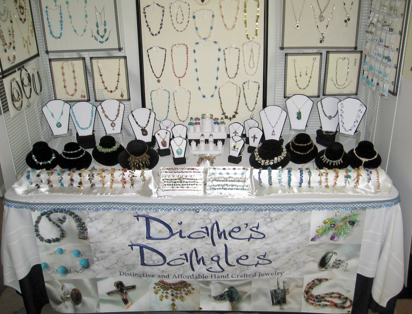 Jewelry Booth Display | Arts & Craft Show Extravaganza