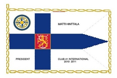 CLUB 41 INTERNATIONAL FLAG 2010/2011