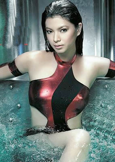 Angel Locsin is named by the FHM Philippines as country's sexiest