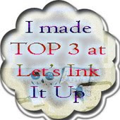 I Won Top 3 at Let's Ink It Up