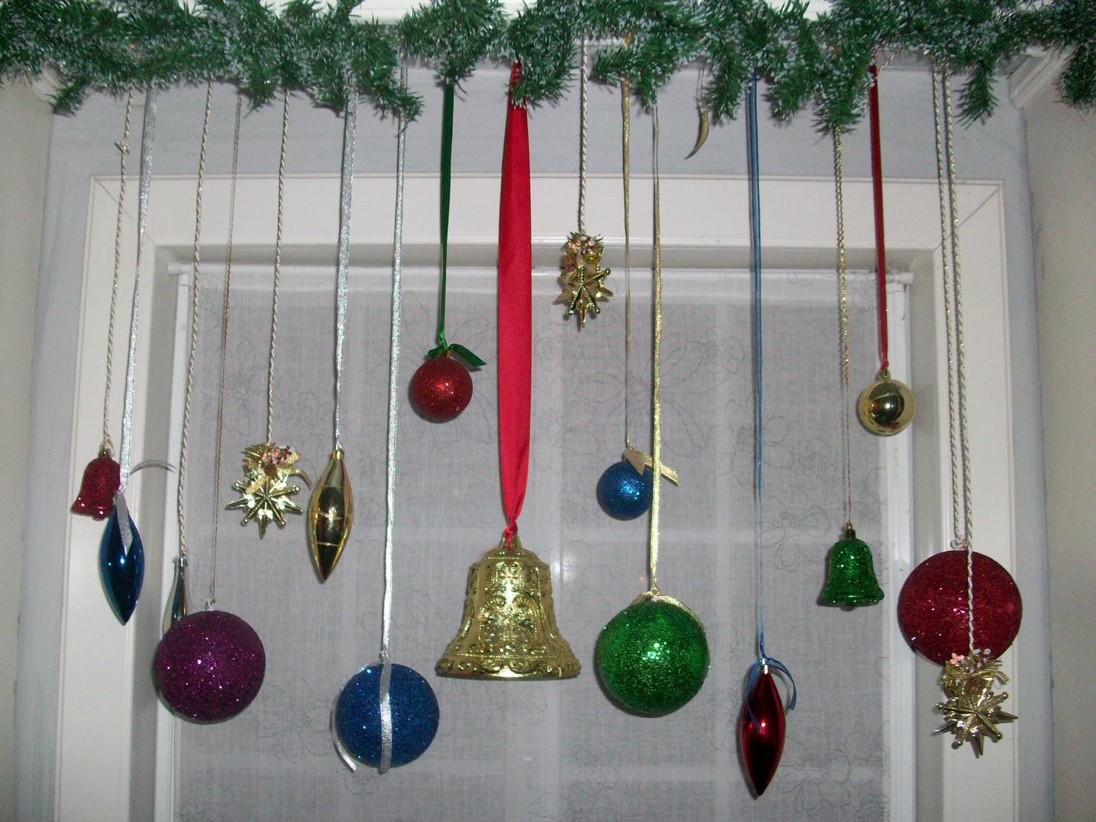 El blog de tit for Decoracion navidena puertas y ventanas