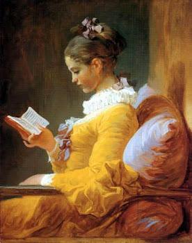La Lectrice(A leitora), de Fragonard