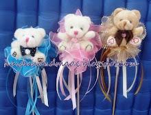 bunga telur teddybear