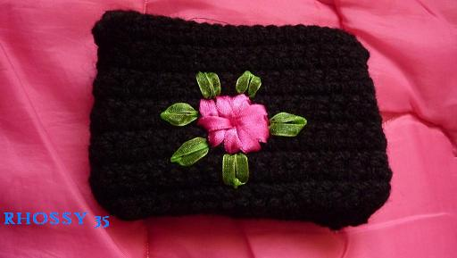 Mis manualidades: Monedero tejido a crochet