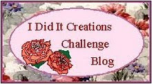 I Did it Creations Challenge Blog