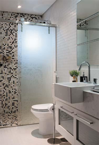 Azulejos que imitam pastilhasJeito de Casa  Blog de Decoração -> Banheiro Com Azulejo Pastilha