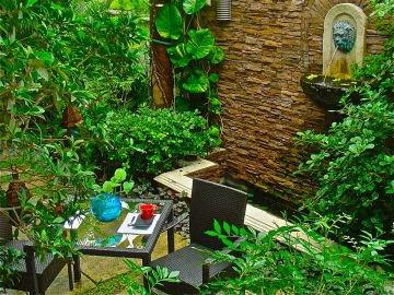 fontes para jardim