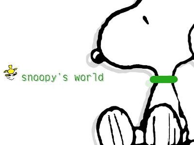 Snoopy Desktop Wallpaper