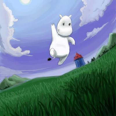Moomin Cool Wallpaper