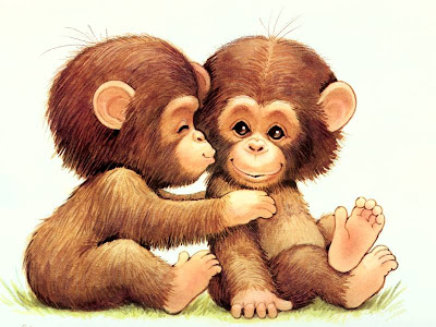 Cute Cartoon Monkey Wallpapers 800x600