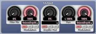 Dual filter settings
