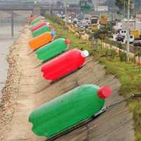 Eduardo Srur - Giant Plastic Bottles (2008)