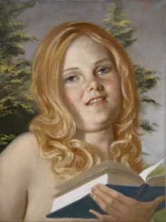 John Currin - Pushkin Girl © the artist