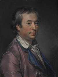 Francis Cotes - Portrait of Sir William Chambers (1764)