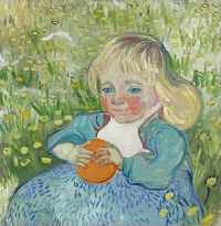 Vincent van Gogh - L'Enfant a l'Orange (1890)