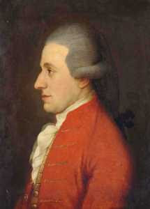 Attributed to Joseph Hickel - Wolfgang Amadeus Mozart (ca 1783)