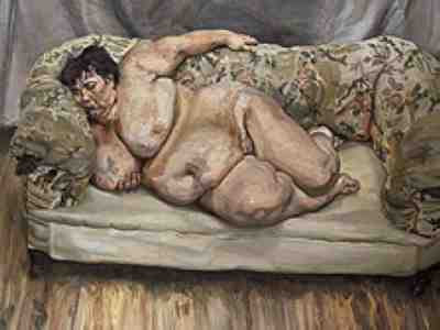 Lucian Freud - Benefits Supervisor Sleeping (1995)