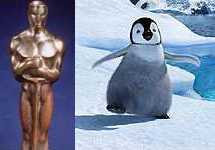 Oscar for Happy Feet (2007)