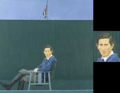 Bryan Organ - Prince Charles (1980) © National Portrait Gallery, London