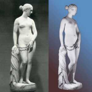Hiram Powers - The Greek Slave (1844) 2 views