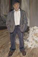 Lucian Freud - Bruce Bernard (1992)