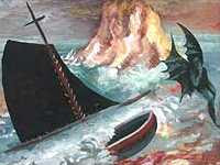 Steven Campbell - Devil and Boat (1993)