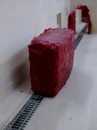 Anish Kapoor - Svayambh model of installation for Haus der Kunst (2007)